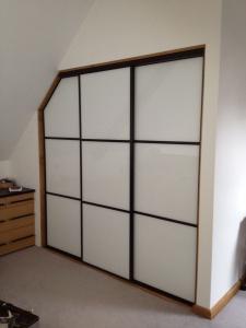 white oriental sliding wardrobe doors