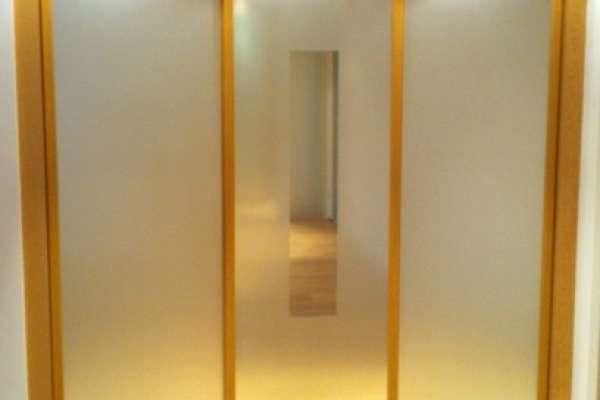 Sliding wardrobe doors aren't just for bedrooms