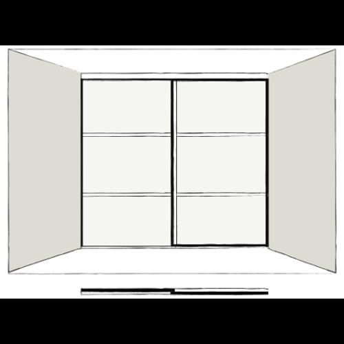 2 Door Orienta - sliding wardrobe doors