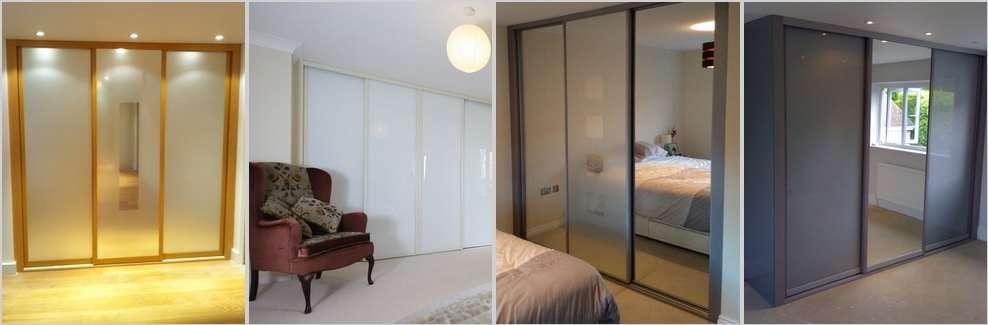Full length sliding wardrobe doors - Sliding wardrobe doors – sliding wardrobe company – bespoke made to measure wardrobes