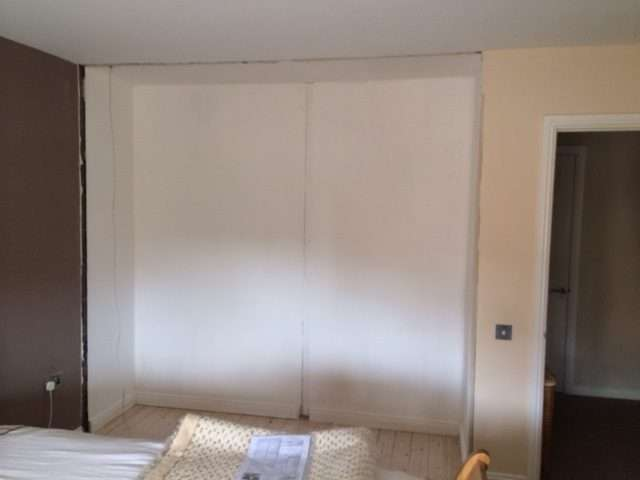 how to fit sliding wardrobe doors