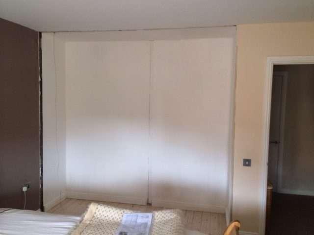 how to fit sliding wardrobe doors