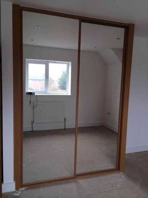 sliding wardrobe doors in cotswolds