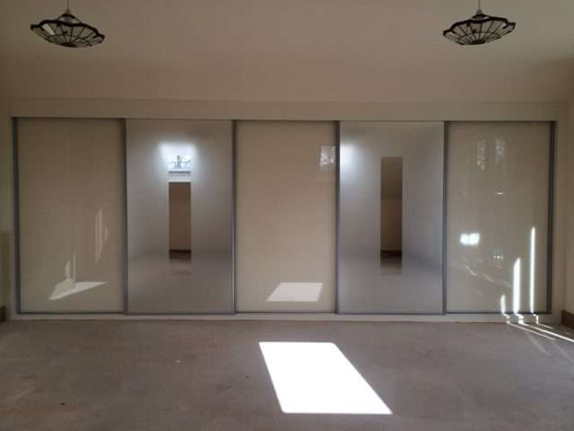 frosted glass sliding wardrobe doors