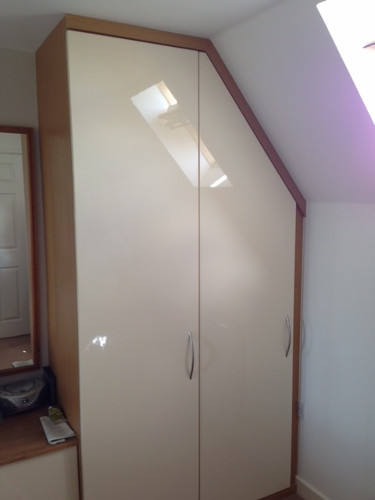 Small space? See how a bespoke sliding wardrobe door could work for you