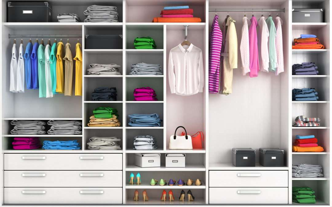 Do you have wardrobe OCD: is everything in colour order?