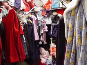 Cluttered Wardrobes