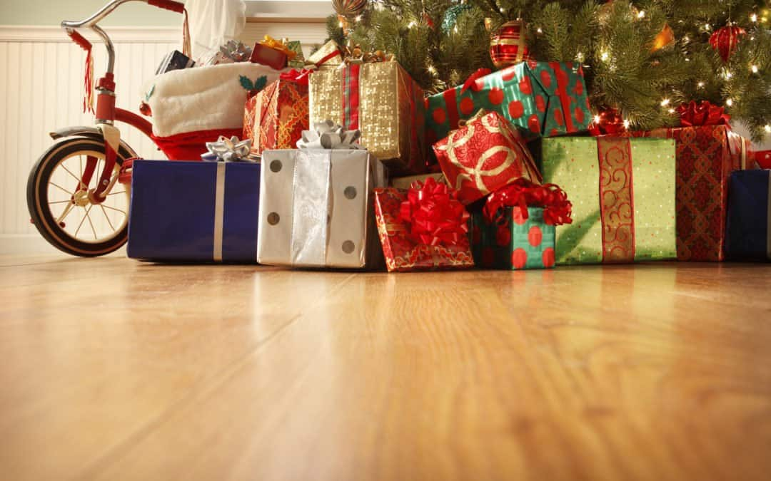 Storage solutions for Christmas presents